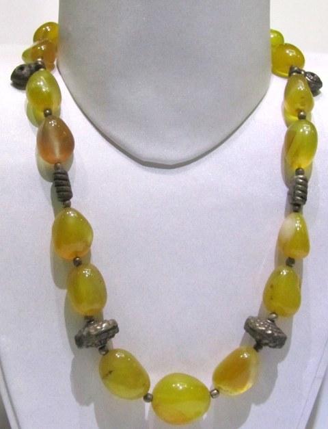 Yellow Onyx Tumble Shape