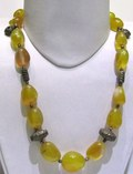 Yellow Onyx Tumble Shape