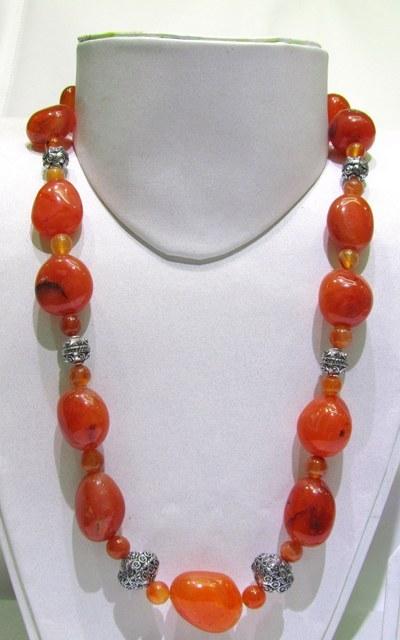 Red Carnelian Beads