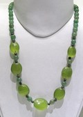 Green Onyx & Green Aventurine shapes