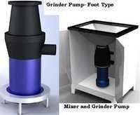 Mixer cum Waste Grinder Pump System
