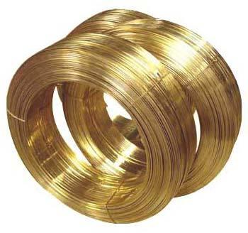 Flat Brass Wire