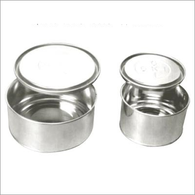 Round Full Open Mouth Tin Container