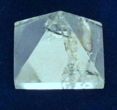 Quartz Crystal Pyramid