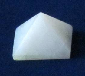 White Quartz Pyramid