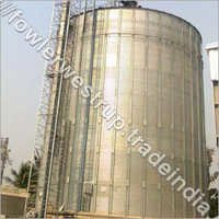 Flat Bottom Silos For 1X2500  MT Yellow Peas
