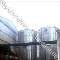 Flat Bottom Silos For 2X500 MT Paddy