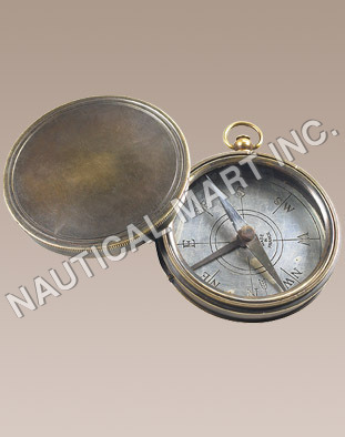 Vintage Pocket Compass