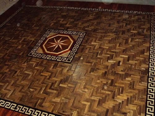 Wood Flooring Border
