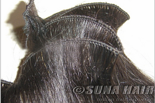 Micro Hand Tied Weft Hair