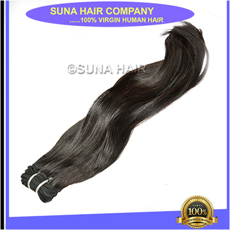 Machine Weft Curly Human Hair Extension