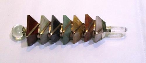 7 Chakra Pyramid Healing Wand