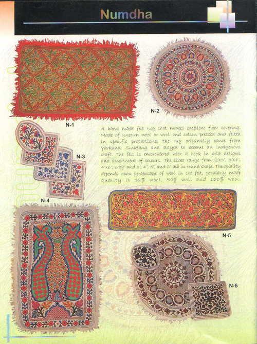 Numdha Woollen Rugs