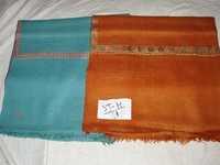 Pure Pashmina Paper Mache Border Embroidery Shawl