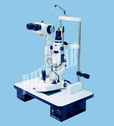 Slit Lamp Fine Stepper Magnification