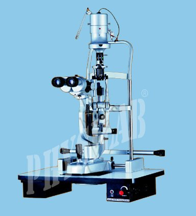 Steel Slit Lamp Stepper Magnification