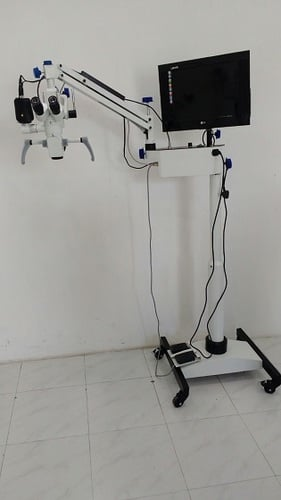 5 Step Surgical Ophthalmic Microscope