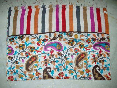 silk katan printed