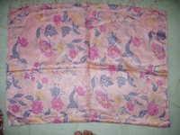 silk katan printed floresent