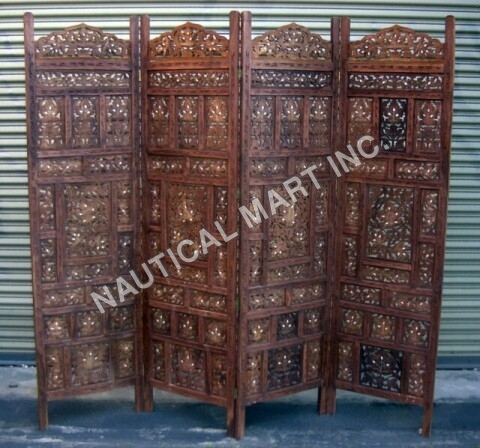 5 SIDED WOODEN SCREEN