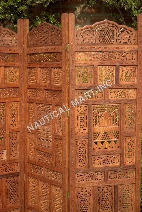 TAJMAHAL WOODEN SCREEN