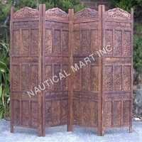 ELEPHANT WOODEN SCREEN