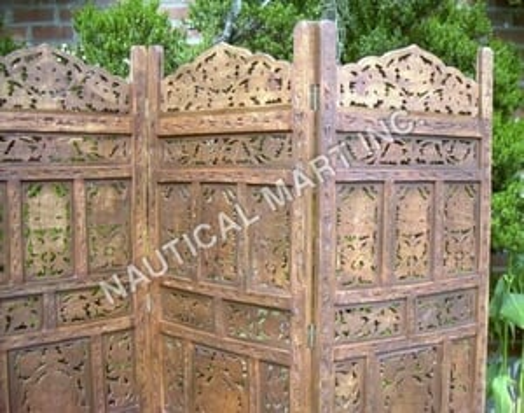 Antique Decorative Wood Panel
