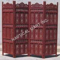 Colourfull Design Wooden Screen
