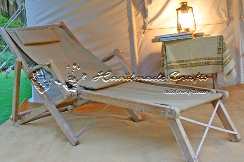 Luxury Tent Furniture-Deck Chair