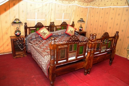 Indian Luxury Tents-Bed