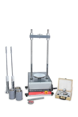 """Marshal Stability Testing Machine-(4"""" Dia)-(With Proving Ring and Dial Gauge)"""