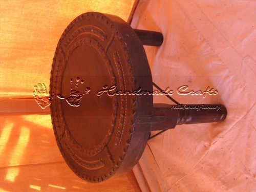 Indian Luxury Tents Wooden Stool