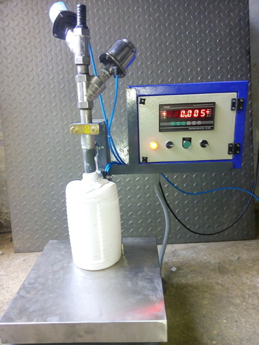 Plastic Jar Filling Machine
