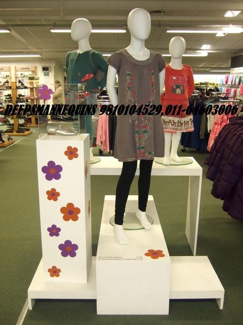 Standing Kids Mannequins