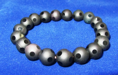Black Obsidian Round Beads