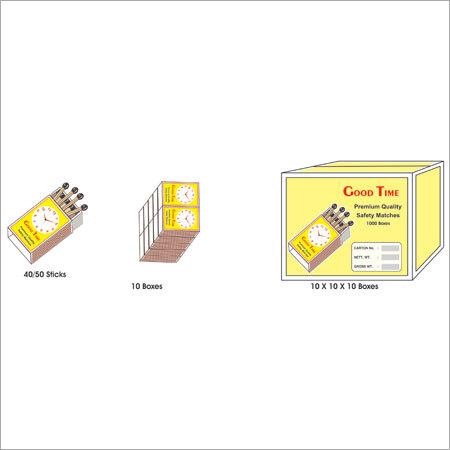 Small Safety Match Box