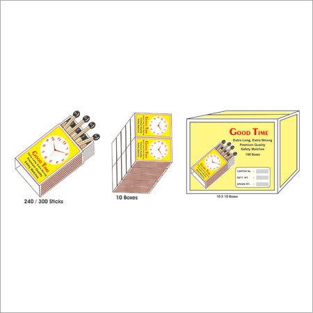 Jumbo Safety Match Box