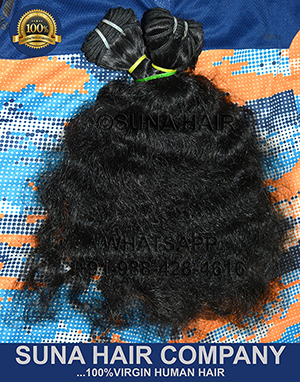 Virgin Curly Human Hair Extension
