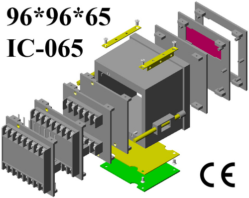 Plastic panel enclosure DIN 96*96*65
