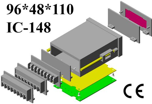 Digital panel meter cabinet DIN 96*48*110