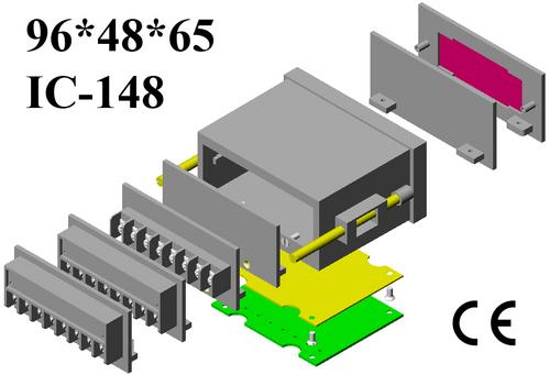 Digital panel meter enclosure DIN 96*48*065