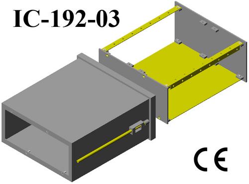 Plastic electrical enclosure DIN 96*192*200