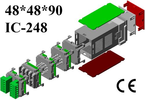 Plastic panel enclosure DIN 48*48*90