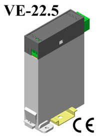 Din Rail Plastic Vertical Enclosure 123*75*22.5