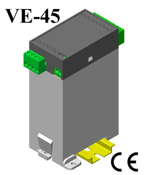 Din Rail Plastic Vertical Enclosure 123*75*45