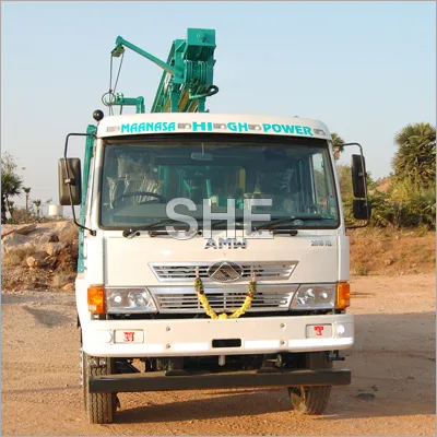 Truck Mounted Drillings Rigs
