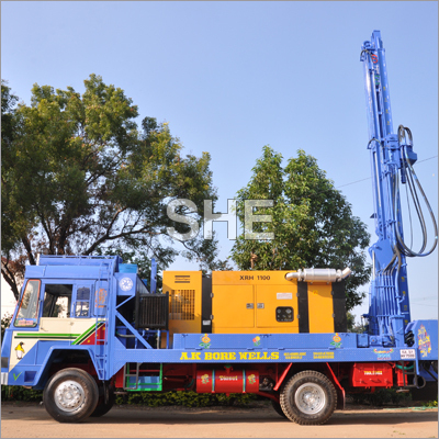 Hydraulic Bore Well Drill Rigs