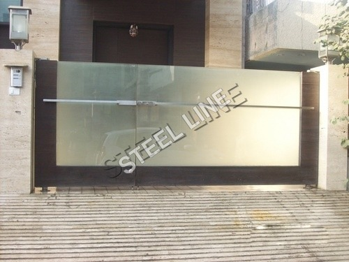 Stainless Steel Main Gates