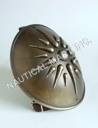 Greek Style Emblem Shield