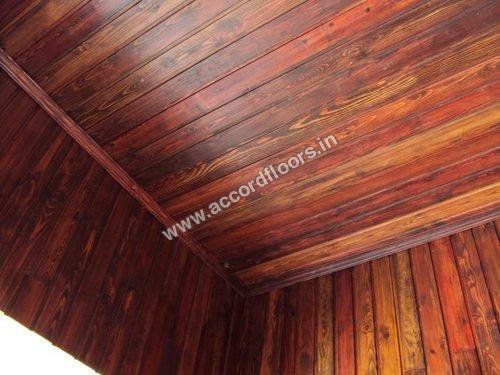 Pinewood Wall Panel